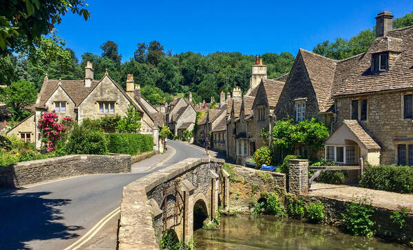 Castle Combe, Engeland