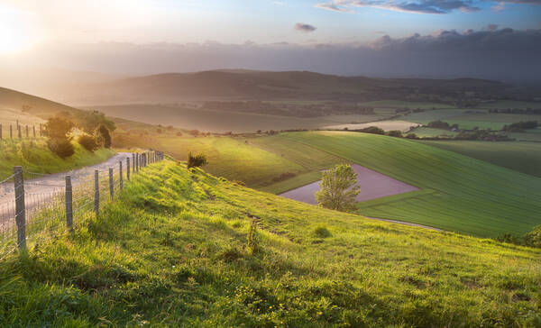 South Downs national park, Eastbourne