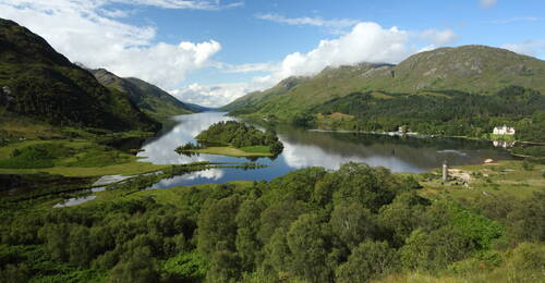 Loch Shiel bij Fort William, Schotland