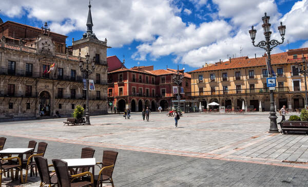 Plaza Mayor de Leon